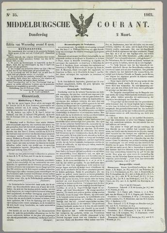 Middelburgsche Courant 1865-03-02