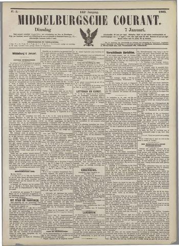 Middelburgsche Courant 1902-01-07