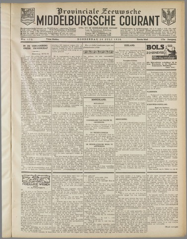Middelburgsche Courant 1930-07-24
