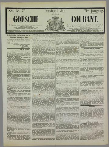 Goessche Courant 1884-07-01