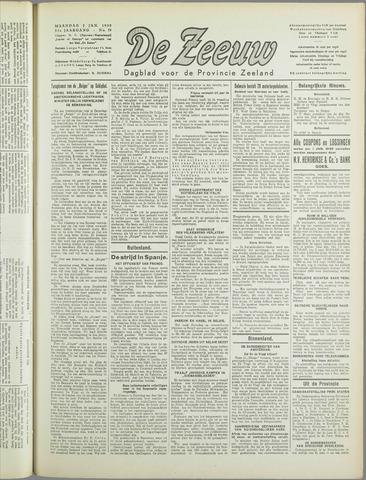 De Zeeuw. Christelijk-historisch nieuwsblad voor Zeeland 1939