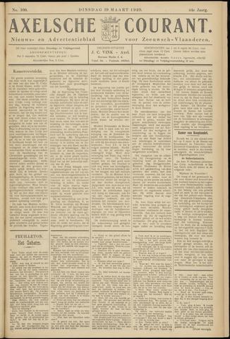 Axelsche Courant 1929-03-19