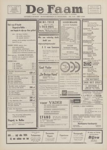 de Faam en de Faam/de Vlissinger 1969-06-12