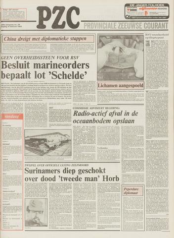 Provinciale Zeeuwse Courant 1983-02-04
