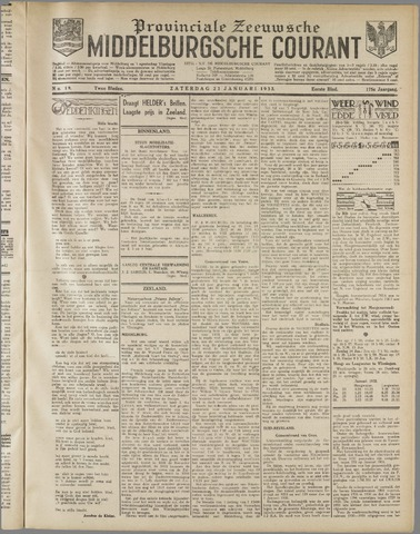 Middelburgsche Courant 1932-01-23