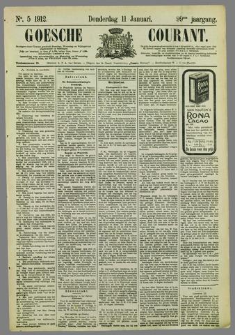 Goessche Courant 1912-01-11