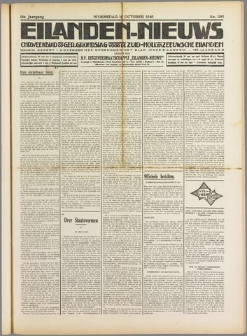 Eilanden-nieuws. Christelijk streekblad op gereformeerde grondslag 1940-10-16