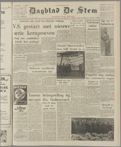 de Stem 1962-04-26