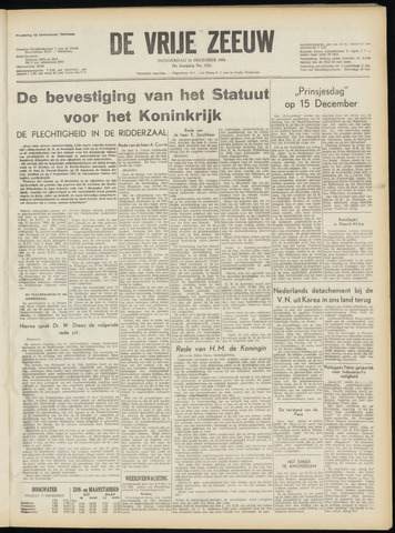de Vrije Zeeuw 1954-12-16