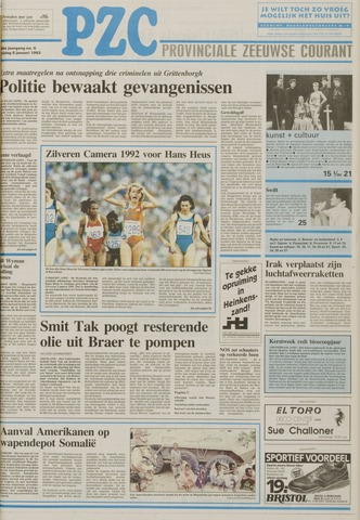 Provinciale Zeeuwse Courant 1993-01-08