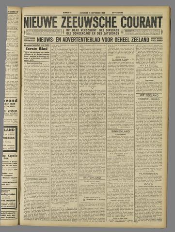 Nieuwe Zeeuwsche Courant 1926-09-18