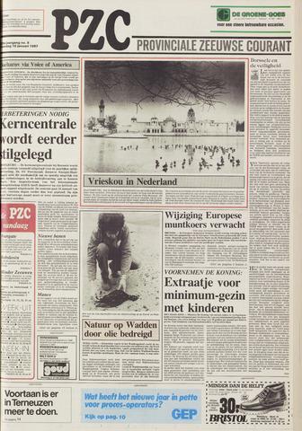 Provinciale Zeeuwse Courant 1987-01-10