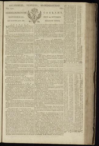Middelburgsche Courant 1801-10-29