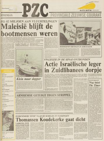 Provinciale Zeeuwse Courant 1979-07-25