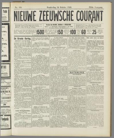 Nieuwe Zeeuwsche Courant 1915-10-14