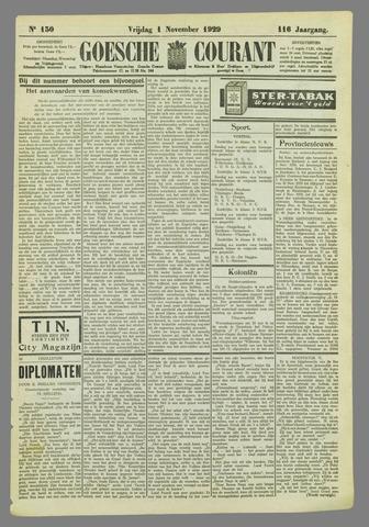 Goessche Courant 1929-11-01