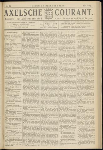 Axelsche Courant 1930-12-02
