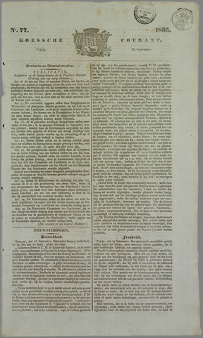 Goessche Courant 1835-09-25