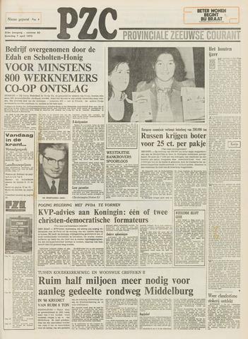 Provinciale Zeeuwse Courant 1973-04-07