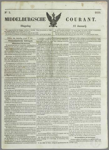 Middelburgsche Courant 1859-01-11