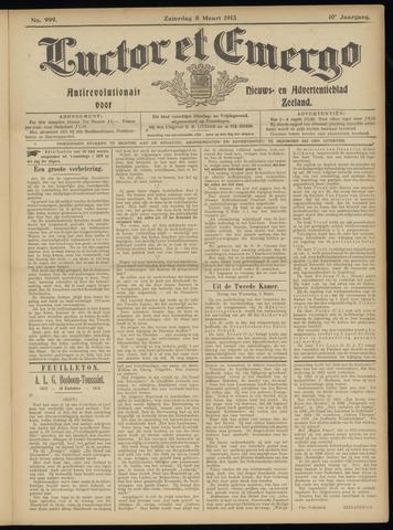 Luctor et Emergo. Antirevolutionair nieuws- en advertentieblad voor Zeeland / Zeeuwsch-Vlaanderen. Orgaan ter verspreiding van de christelijke beginselen in Zeeuwsch-Vlaanderen 1913-03-08