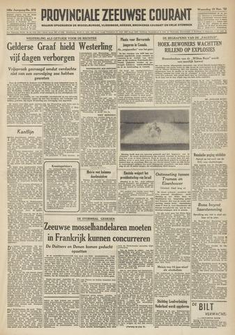 Provinciale Zeeuwse Courant 1952-11-19
