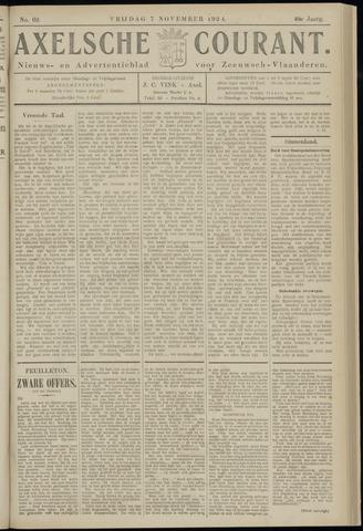 Axelsche Courant 1924-11-07