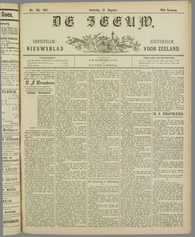 De Zeeuw. Christelijk-historisch nieuwsblad voor Zeeland 1897-08-12