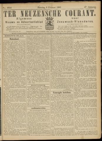 Ter Neuzensche Courant. Algemeen Nieuws- en Advertentieblad voor Zeeuwsch-Vlaanderen / Neuzensche Courant ... (idem) / (Algemeen) nieuws en advertentieblad voor Zeeuwsch-Vlaanderen 1907-02-09