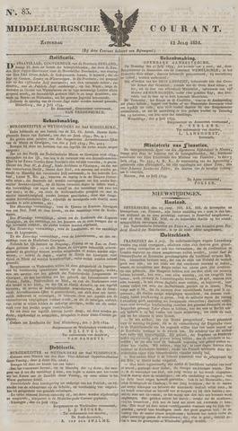 Middelburgsche Courant 1834-07-12