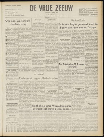 de Vrije Zeeuw 1955-04-22