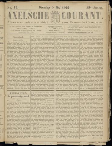 Axelsche Courant 1922-05-09