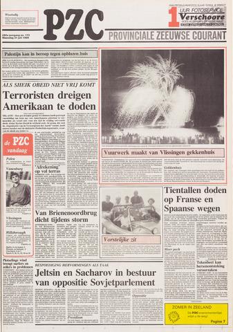 Provinciale Zeeuwse Courant 1989-07-31