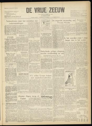 de Vrije Zeeuw 1956-02-20