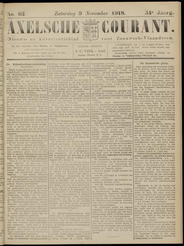 Axelsche Courant 1918-11-09