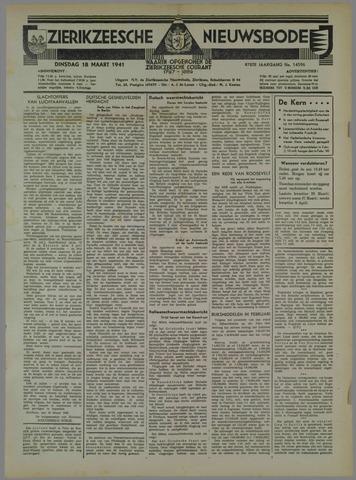 Zierikzeesche Nieuwsbode 1941-03-18