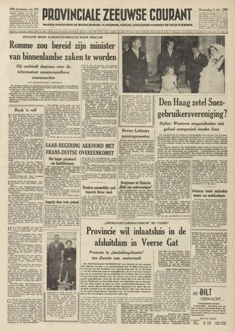 Provinciale Zeeuwse Courant 1956-10-03