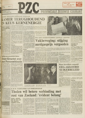 Provinciale Zeeuwse Courant 1974-10-23