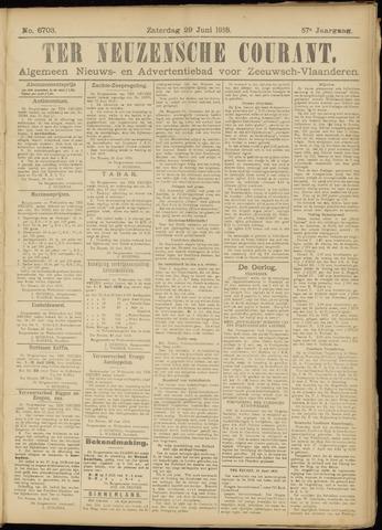 Ter Neuzensche Courant. Algemeen Nieuws- en Advertentieblad voor Zeeuwsch-Vlaanderen / Neuzensche Courant ... (idem) / (Algemeen) nieuws en advertentieblad voor Zeeuwsch-Vlaanderen 1918-06-29