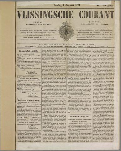 Vlissingse Courant 1882
