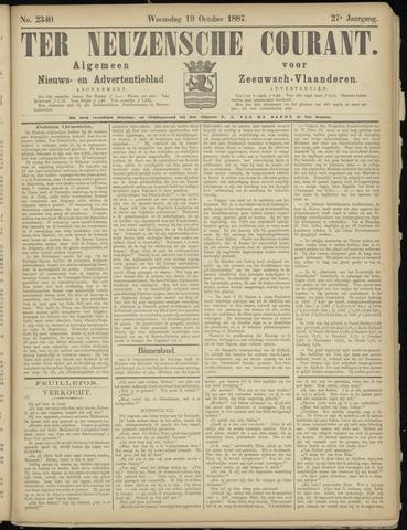 Ter Neuzensche Courant. Algemeen Nieuws- en Advertentieblad voor Zeeuwsch-Vlaanderen / Neuzensche Courant ... (idem) / (Algemeen) nieuws en advertentieblad voor Zeeuwsch-Vlaanderen 1887-10-19