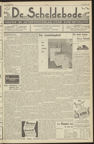 Scheldebode 1962-03-23