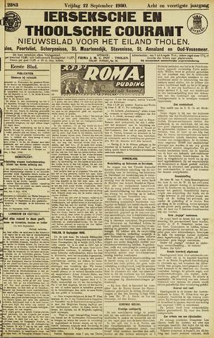 Ierseksche en Thoolsche Courant 1930-09-12