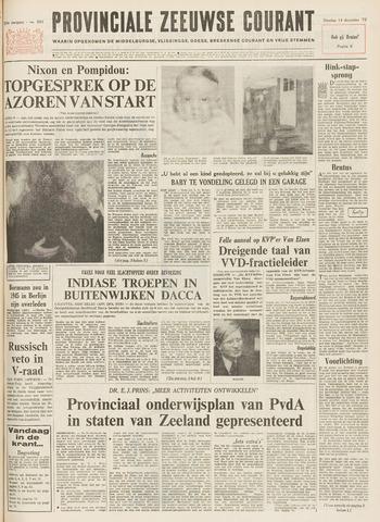 Provinciale Zeeuwse Courant 1971-12-14