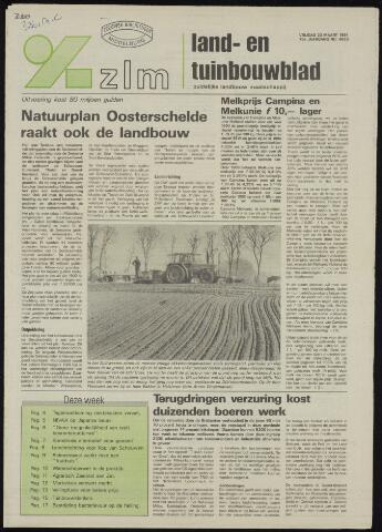 Zeeuwsch landbouwblad ... ZLM land- en tuinbouwblad 1991-03-22