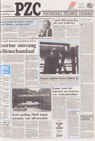 Provinciale Zeeuwse Courant 1989-04-19