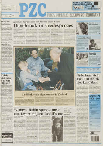 Provinciale Zeeuwse Courant 1995-11-13