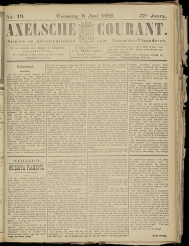 Axelsche Courant 1921-06-08