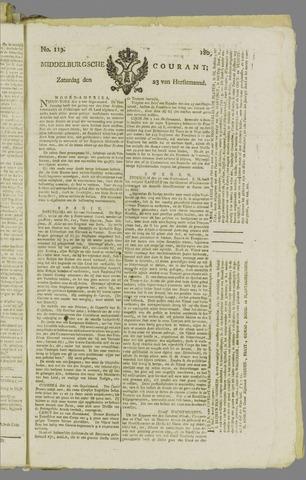 Middelburgsche Courant 1809-09-23