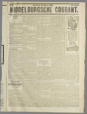 Middelburgsche Courant 1925-03-21